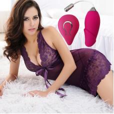 Wireless Remote Controlled Rechargeable  Vibrator | Alat Mainan Seks Wanita
