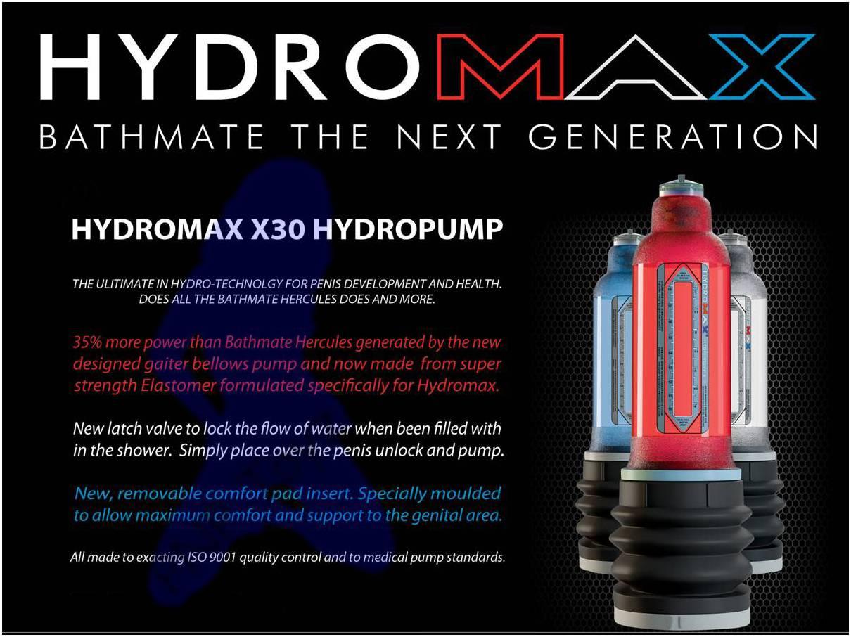 hyromax x30 pump review